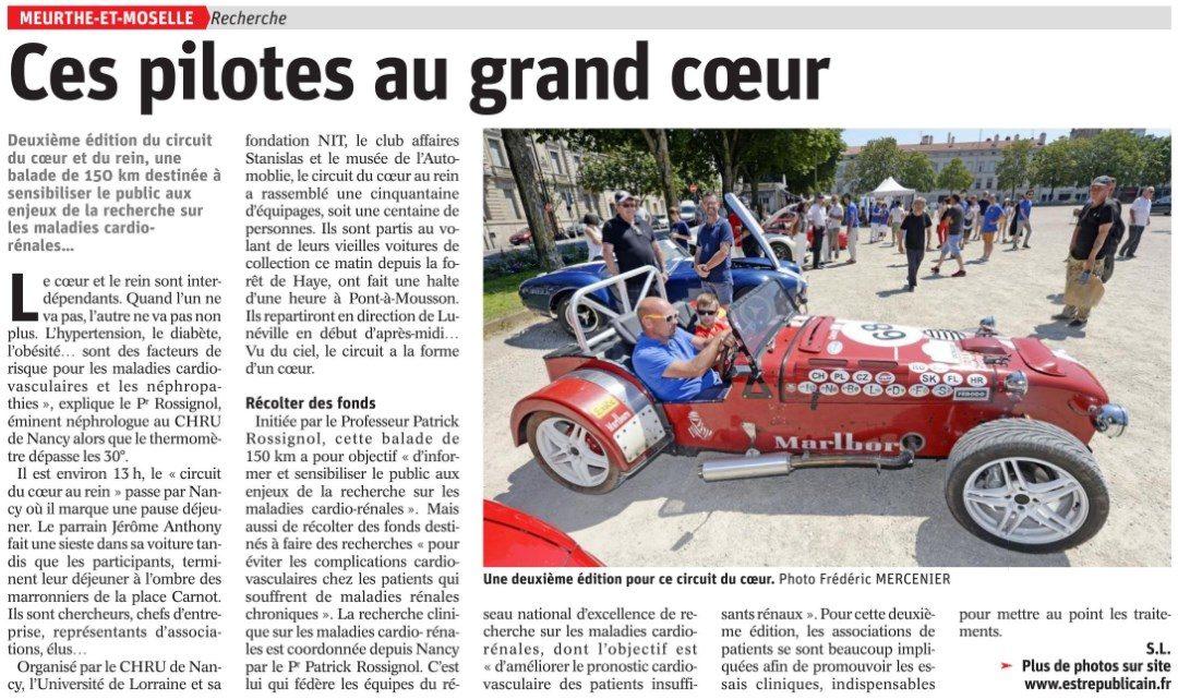 Article – Est Républicain – 02 Juillet 2018